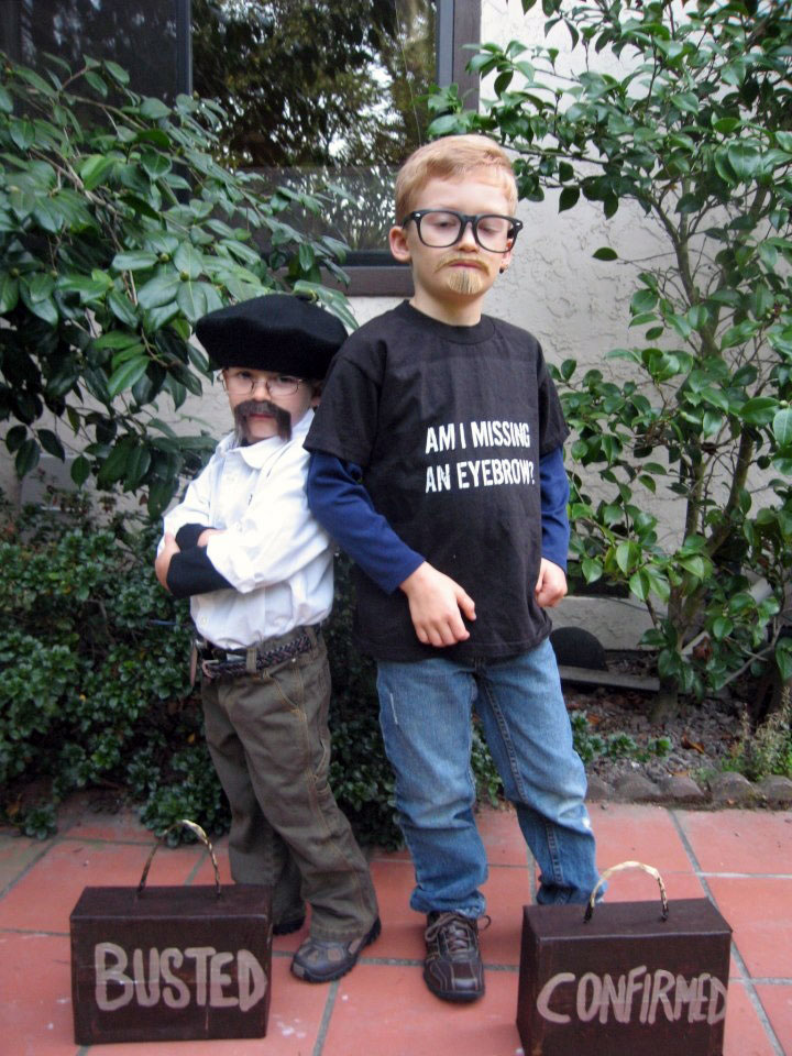 Adam and Jamie Halloween costume