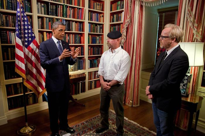 MythBusters President Obama to Appear on MythBusters